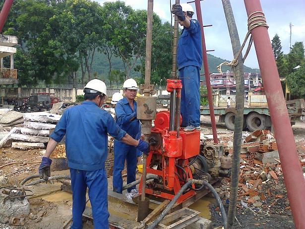 Khoan giếng công nghiệp Thái Bình