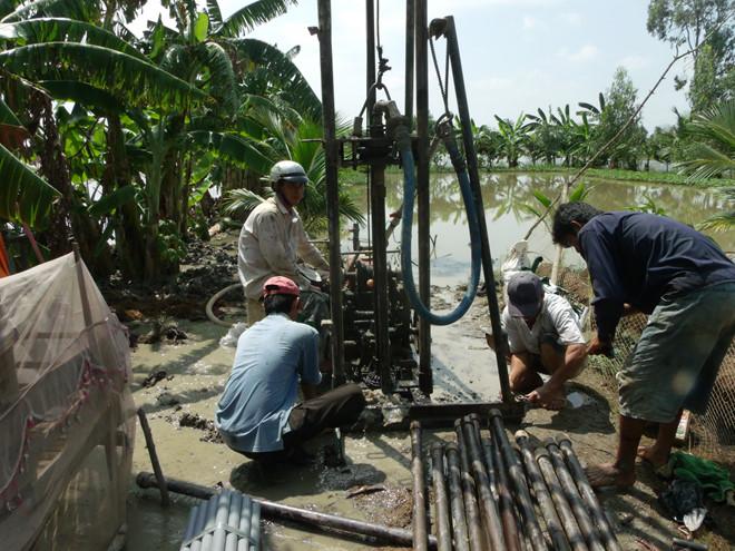khoan giếng công nghiệp Ninh Bình