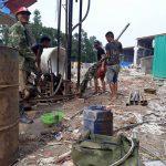 Khoan giếng tại huyện Ba Vì, Hà Nội