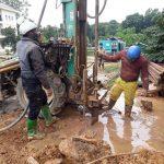 Khoan giếng tại Bắc Giang